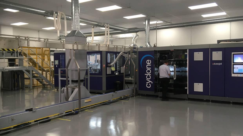 New Tonejet facility
